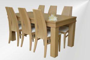 פינת אוכל 100X165 MADRID-365 שולחן עד 20 סועדים
