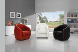 כורסא עיצובית דגם APOLINE תוצרת איטליה